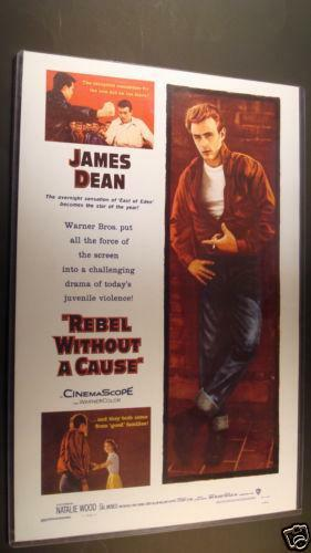 james dean movie poster ebay. Black Bedroom Furniture Sets. Home Design Ideas