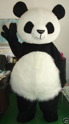 Chinese Panda Bear Mascot Costume Suit Fancy Dress Adult Size Cosplay Party - Panda Mascot Suit
