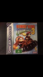Donkey Kong Country 3 - Original GBA Game boxed