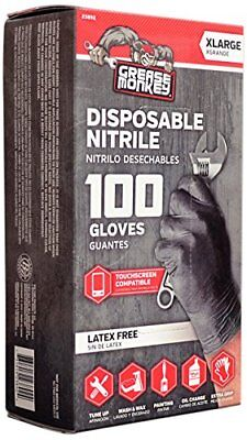 Grease Monkey Disposable Nitrile Gloves L Or Xl Pack Of 100