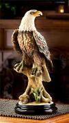 Sculptures Wood Eagle