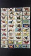 Cigarette Cards Butterflies