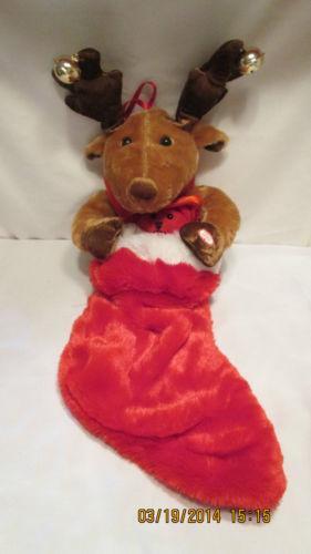 Singing Reindeer | eBay