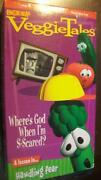 VeggieTales Where's God When I'M S-scared VHS
