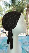 Black Head Scarf