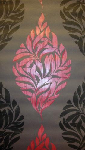 Barock Tapete Lila Schwarz : Vliestapete Barock Schwarz: Design & Muster eBay