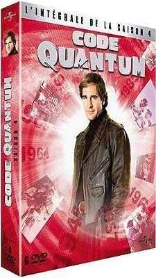 Code Quantum - Saison 4 -  - COFFRET  6 DVD NEUF