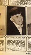 Marx Brothers Photo