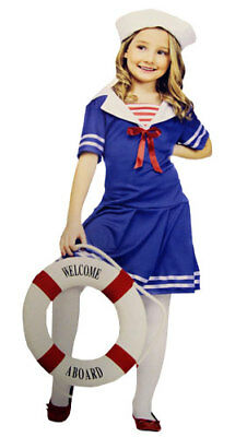 Tween Sailor Costume - Sea Sweetie Girls - Sailor Costume