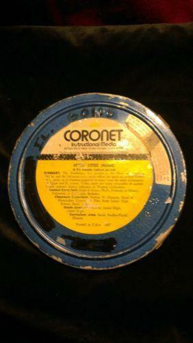 16mm Reel Movie Projectors: 16mm Film Canisters