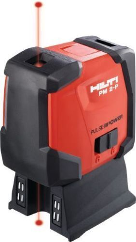 New Hilti PM 2-P Plumb Laser   RED PLUMB 2 POINT LASER
