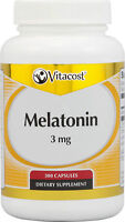 Vitacost Melatonin 3mg, 300 capsules