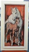 Malerei Pferde