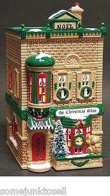 Dept 56 Snow Village ~ The Christmas Shop ~ Mint In Box 50970