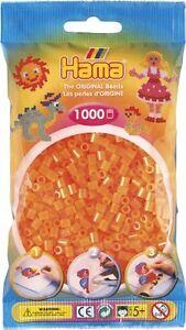 Bolsa-1000-cuentas-Hama-mediano-naranja-neon-20738