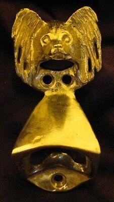 PAPILLON Wall Mounted Bottle Opener in Bronze
