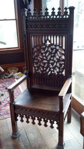 Antique Gothic Furniture Ebay