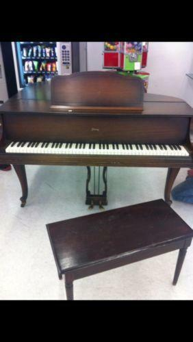 Antique Baby Grand Piano Ebay