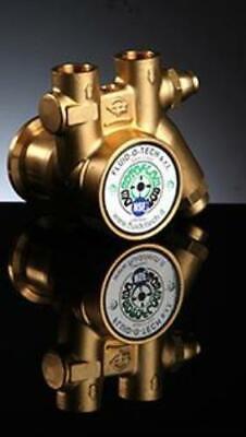 Pa 300 Brass 85-107 Gph 38 Npt Mini Fluid-o-tech Rotary Vane Pumps