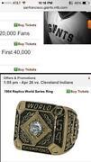 SF Giants Ring