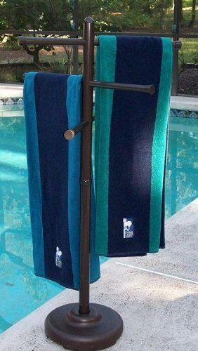 pool towel rack ebay