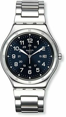 Swatch Irony Quartz Movement Blue Dial Men's Watch YWS420G**Open Box**