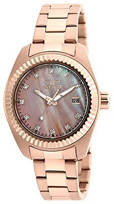 Invicta Women's 20353 Specialty Analog Display Quartz Rose Gold Watch