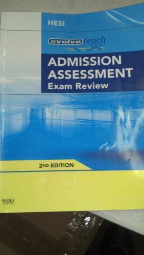 hesi admission assessment exam review ebay