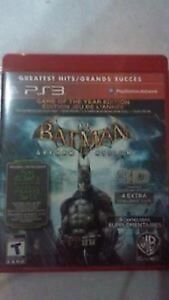 Batman Arkham Asylum for the PS3