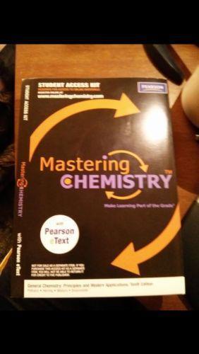 Mastering chemistry textbooks education ebay fandeluxe Choice Image