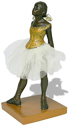 Degas Little Dancer - Edgar Degas Fourteen Year Old Little Ballerina Dancer Statue Sculpture