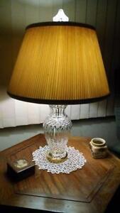 Attractive Vintage Waterford Lamp