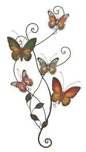 Elegant Butterfly Metal Wall Art