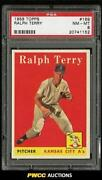 Ralph Terry Baseball Card