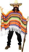 Mens Mexican Poncho