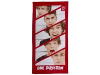 ONE DIRECTION TOWEL - Brand New in packaging - a few available