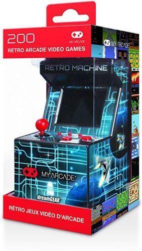 Mini Arcade Game For Kids Retro Portable System Classic Mach