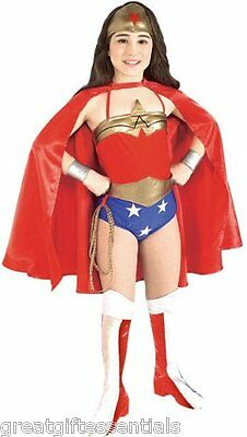 Childrens Wonder Woman Costume (WONDER WOMAN Child Costume M Medium 8-10 Superhero Wonderwoman Justice League)