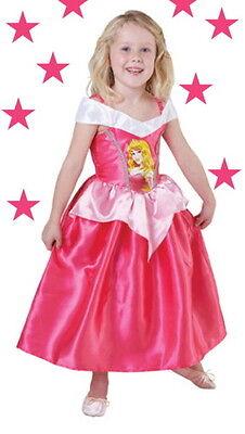 Prinzessin DORNRÖSCHEN DISNEY Ballkleid PINK Aurora Sleeping Beauty 104-116-128 ()