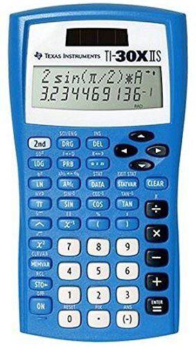 Texas Instruments TI30XIIS Blue, Two-Line Scientific Calculator NEW
