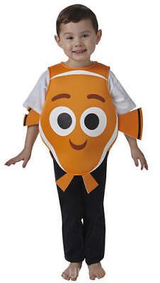 Finding Dory Fish Kids Fancy Dress Disney Nemo Childrens Kids Sea Childs Costume - Nemo Fancy Dress Costume