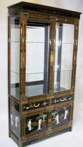 Black China Cabinet | EBay