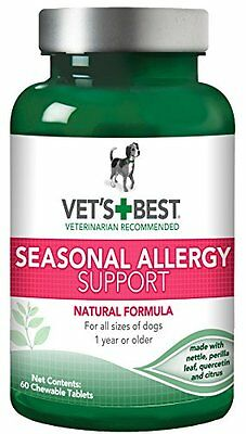 Vet'S Best Seasonal Allergy Support Supplement For Dogs, 60 Tablets