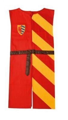 Ritter Waffenrock Kindergröße Mittelalter LARP Kostüm (Lancelot Kostüm)