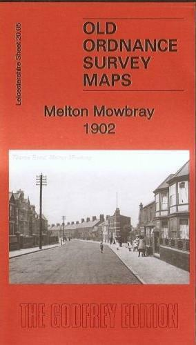 MAP OF MELTON MOWBRAY 1902