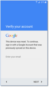 FRP Google Lock Removals / Bypassing