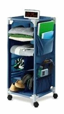 Homz, Dorm / Tent Rolling Cart, Storage Organizer, Soft sided, Versatile Storage