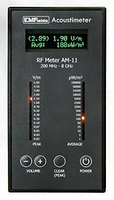 Rf Meter Acoustimeter Am-11 Measures Phones Towers Wifi Free 3-day Ship In Us