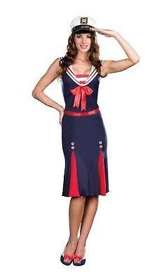 Cute Sailor Costumes (CUTE SALUTE SEA U. SOON SAILOR ADULT HALLOWEEN COSTUME WOMEN'S SIZE SMALL)