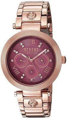 Versus by Versace Women's SCA060016 Camden Market Quartz Rose Gold Watch